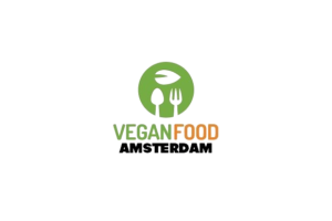 Vegan food amsterdam logo