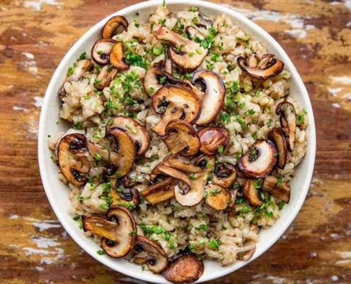 vegan mushroom recipe