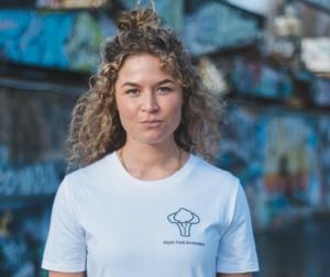 Unisex Vegan food amsterdam tshirt