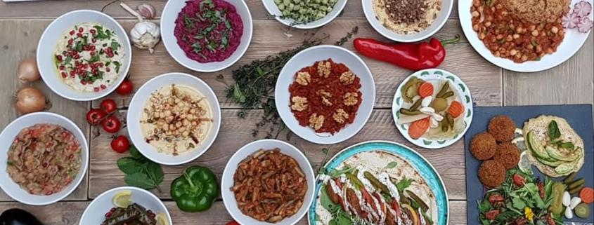 Vegan Falafel at Mama's Keuken Amsterdam