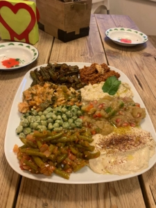 Vegetarian Arabic Food