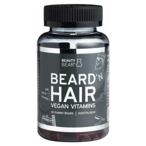 Beauty Bear Beard & Hair Vitamines 150gr