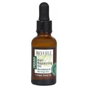 Revuele Vegan & Organic Hair Repairing Oil Macadamia & Moringa Oil 30ml.