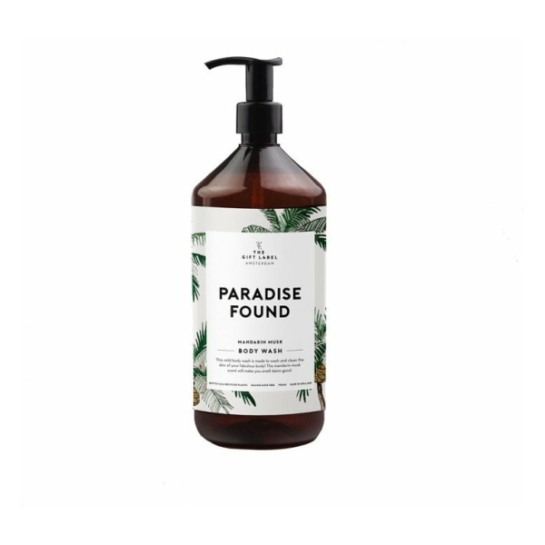 The Gift Label Paradise Found - Mandarin Musk Body Wash - douchegel