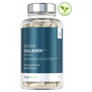 Vegan Collagen Advanced - met Resveratrol - Natuurlijk Collageen Versterkend Supplement - 60 Capsules