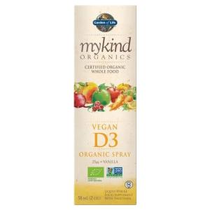 Vegan Vitamin D3 Organic Spray | mykind Organics | Garden of Life