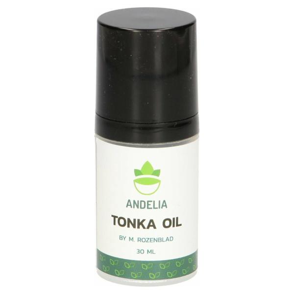 Andelia Tonka Olie | 100% Vegan | bevordert Haargroei & voorkomt Schilfers | M / V - 30ml