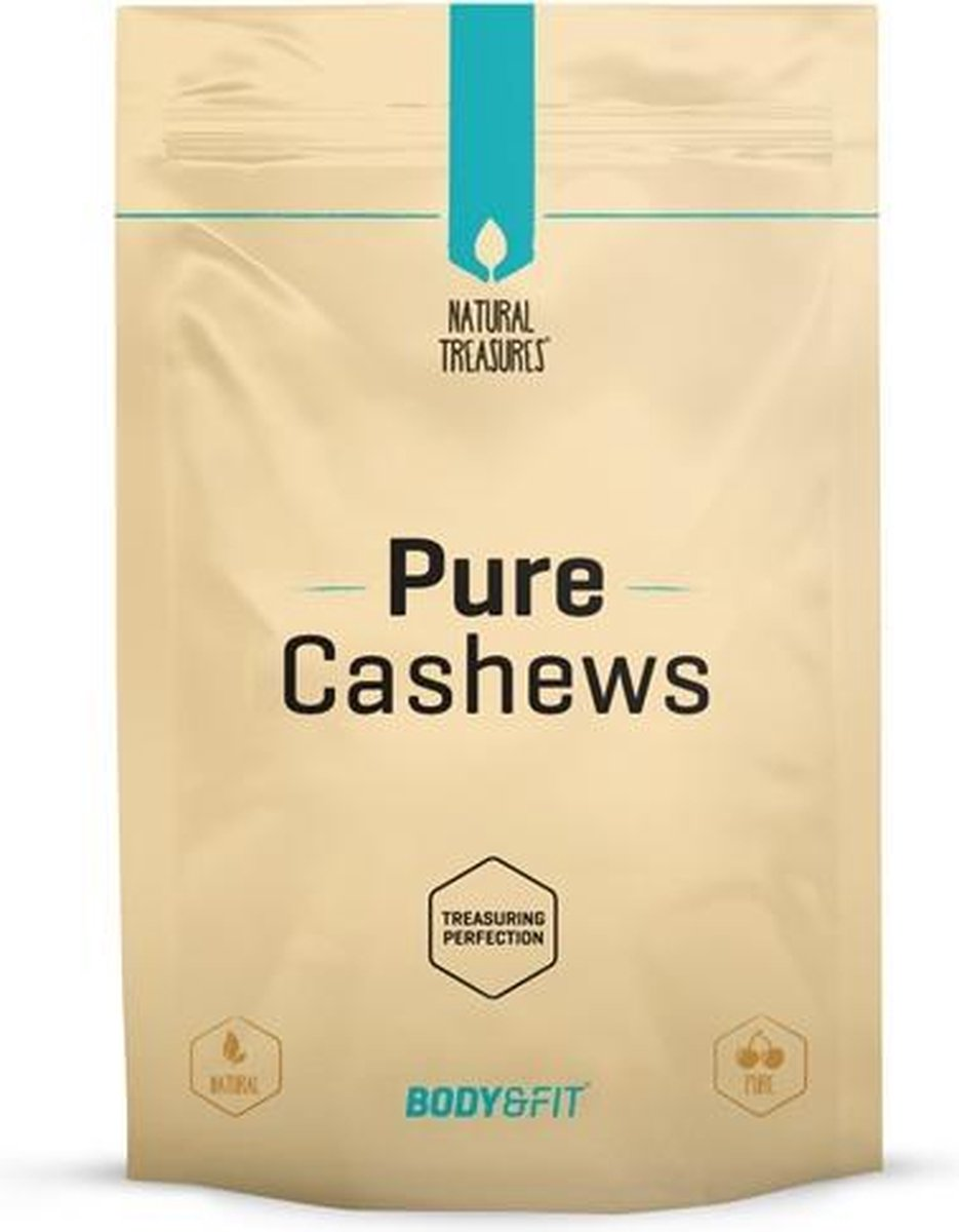 Body & Fit Superfoods- Pure Cashewnoten - 500 gram