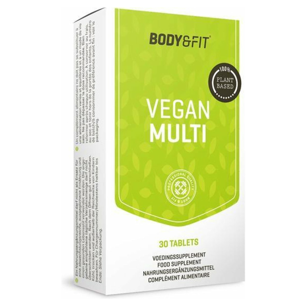 Body & Fit Vegan Multi - Multivitamine - 30 tabletten