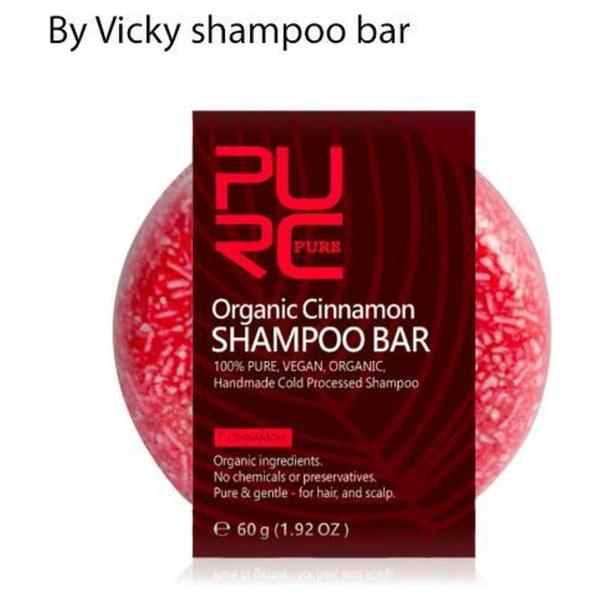 By Vicky shampoo bar / shampoo blok / eco friendly shampoo / vegan shampoo / vrij van schadelijke stoffen - kaneel