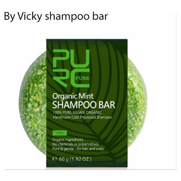 By Vicky shampoo bar / shampoo blok / eco friendly shampoo / vegan shampoo / vrij van schadelijke stoffen - munt
