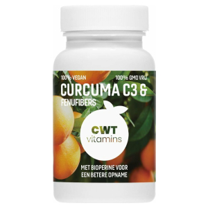 CWT Vitamins - Curcuma C3 Extract - Vegan
