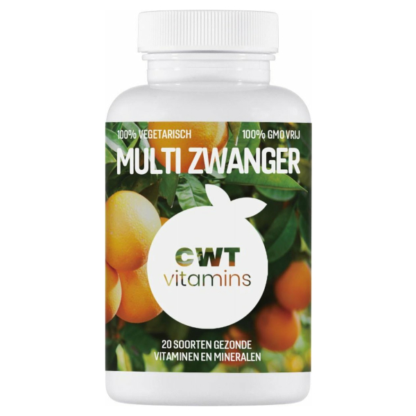 CWT Vitamins - Multi Zwanger - Vegan
