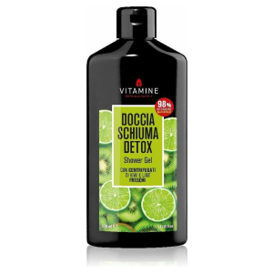 Detox douchegel kiwi en limoen 400 ml