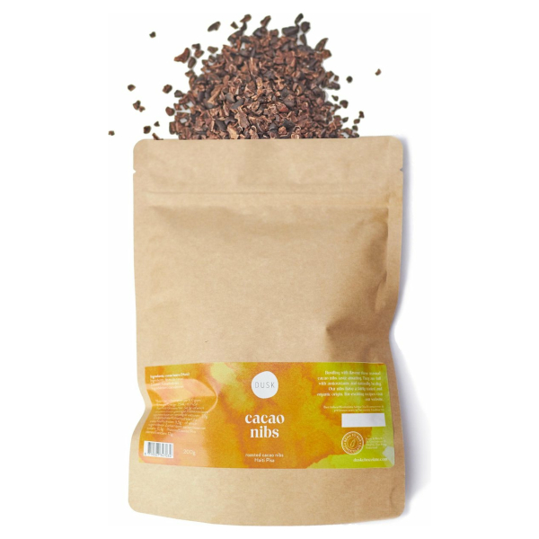 Dusk Cacao Nibs - Haiti PISA - Superfoods - 200 gram