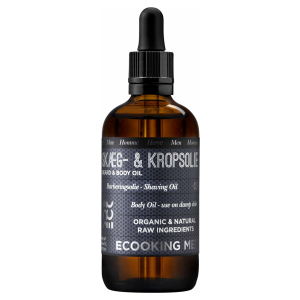 Ecooking Men Beard & Body Oil - Baardolie - Verzorging Heren - 100 ml - Vegan