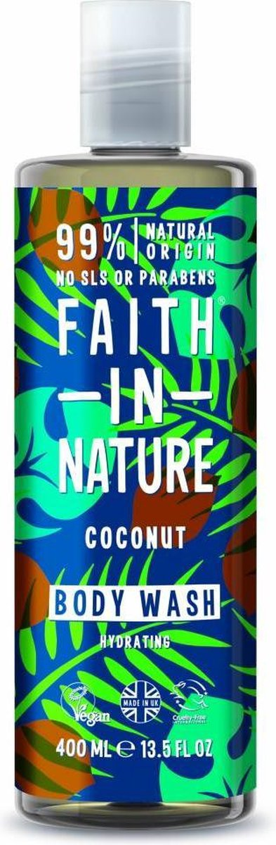 Faith In Nature Body Wash Coconut (400ml)