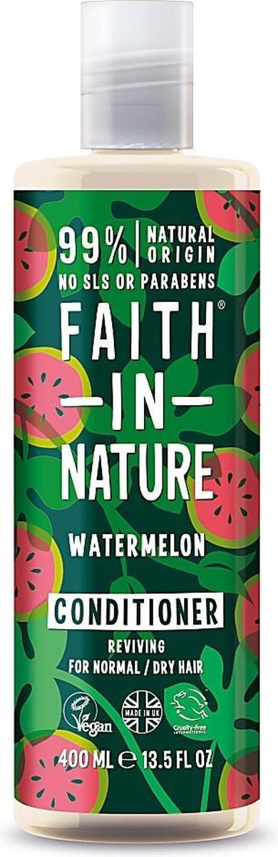 Faith In Nature Conditioner Watermelon 400ml (Normal to Dry Hair)