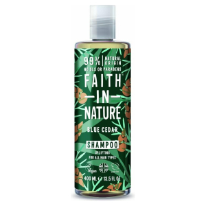 Faith In Nature Shampoo Blue Cedar For Men (400ml)