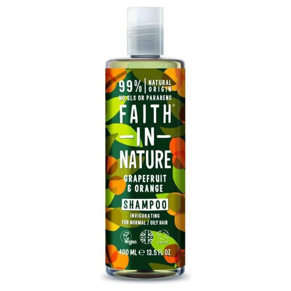 Faith In Nature Shampoo Grapefruit & Orange (400ml)