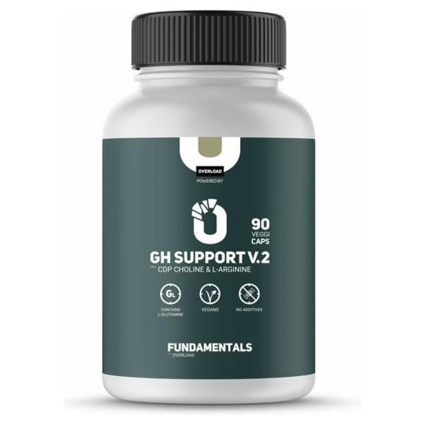 Fundamentals GH Support V2 - CDP - Choline - Aminozuren - L-Glutamine - L-Arginne - 90 Veggi Caps - Vegan - Voedingsupplement