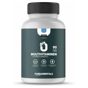 Fundamentals Multivitamine - Vitamine & Mineralen - Vegan - Geschikt voor: zwangerschap/Alle leeftijden - 90 Capsules