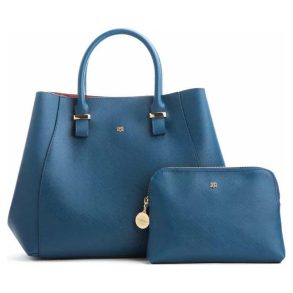Gunas New York - Jane Navy - Vegan Handtas - Blauw