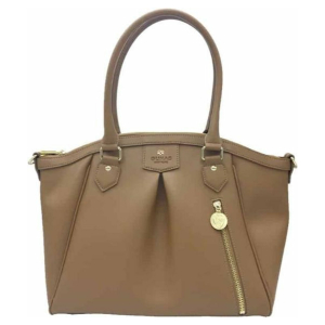 Gunas New York - Madison PE Tan - Vegan Schoudertas - Handtas - Bruin - Cognac