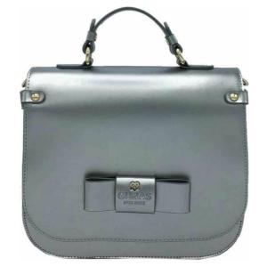 Gunas New York - Ridley PE Silver - Vegan Schoudertas - Crossbody Bag