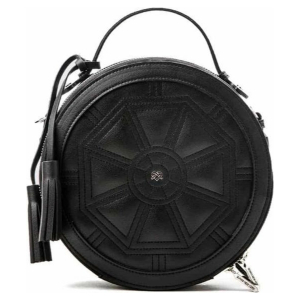 Gunas New York - Rotunda All Black - Ronde Vegan Tas - Crossbody Bag - Zwart