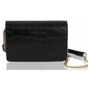 Inyati - Vegan Crossbody - Lottie - Black Croco Matt - Zwart