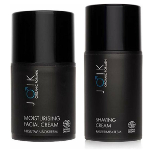 JOIK Vegan FOR MEN|SET Scheercrème en hydraterende dagcrème (2 stuks)