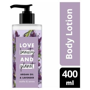 Love Beauty and Planet Bodylotion Argan Oil & Lavendel - 400 ml