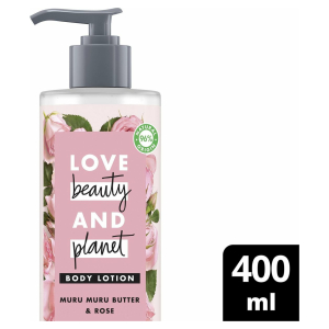 Love Beauty and Planet Bodylotion Muru Muru Butter & Rose - 400 ml