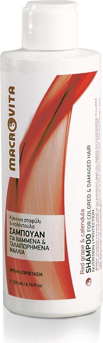 Macrovita Shampoo voor Gekleurd en Beschadigd Haar