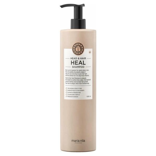 Maria Nila Head & Hair Heal shampoo-1000ml - Anti-roos vrouwen - Voor Alle haartypes