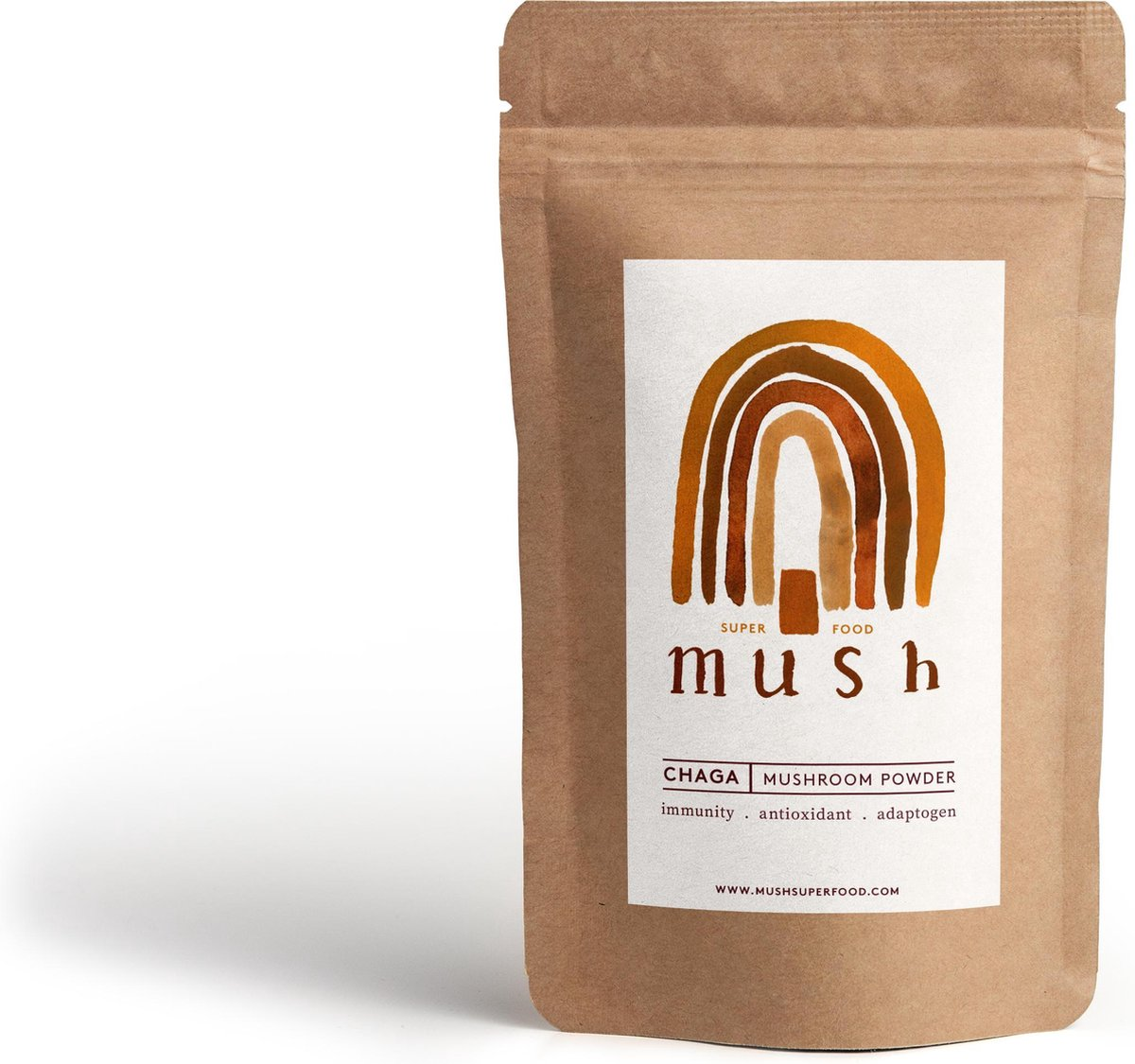 Mush Superfood biologisch Chaga poeder (100g)