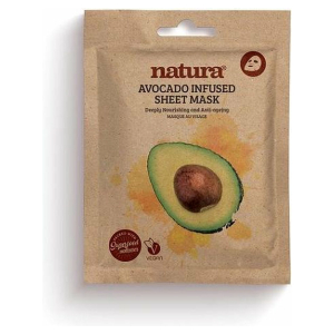 NATURA AVOCADO SHEET VEGAN MASK