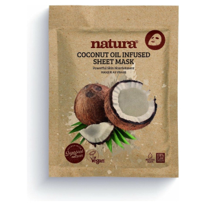 NATURA COCONUT INFUSED SHEET VEGAN MASK