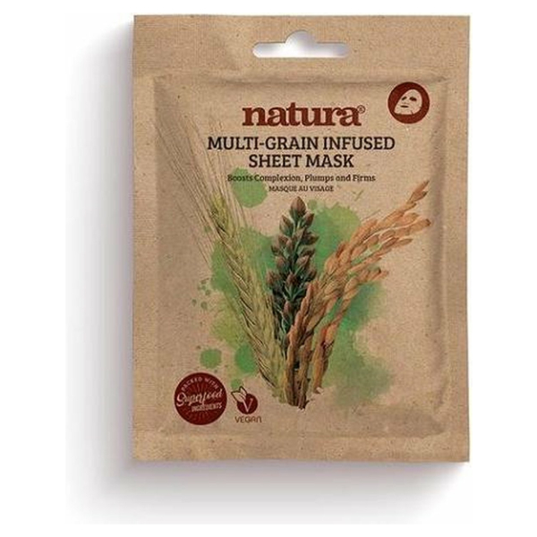 NATURA MULTI-GRAIN SHEET VEGAN MASK