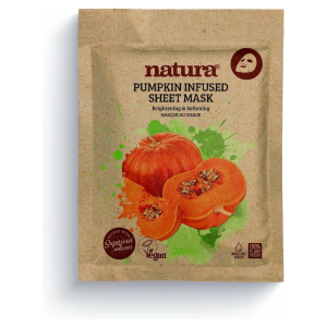 NATURA PUMPKIN INFUSED SHEET VEGAN MASK