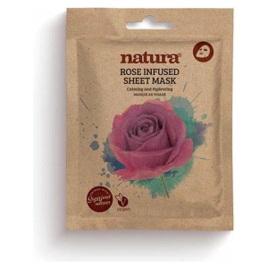 NATURA ROSE SHEET VEGAN MASK