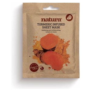 NATURA TURMERIC SHEET VEGAN MASK