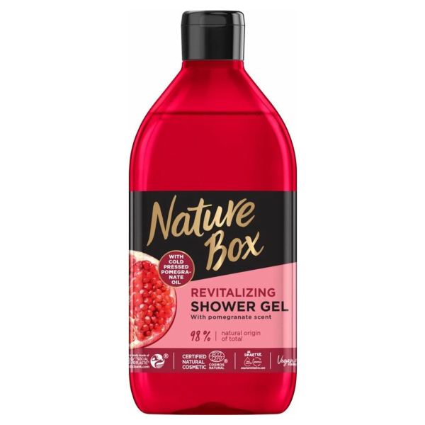 Nature Box Pomegranate Douchegel 385 ml