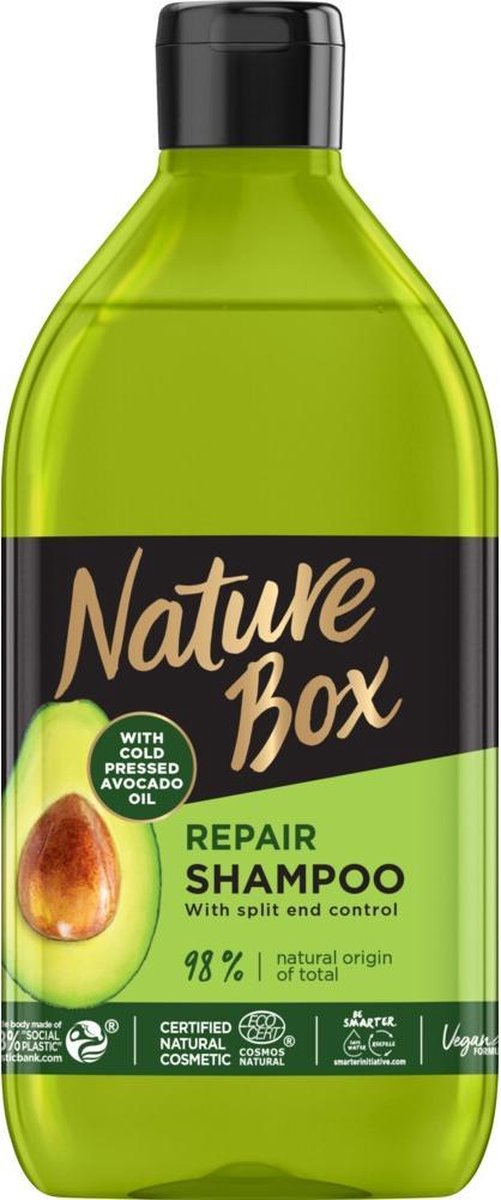 Nature Box Shampoo Avocado Repair 385 ml