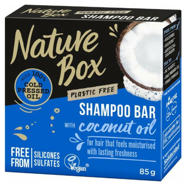Nature box body bar coconut 150 gr