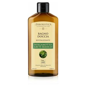 Natuurlijke bad en douchegel Bergamot & Silver Fir (400 ml) VEGAN, vrij van parabenen en siliconen