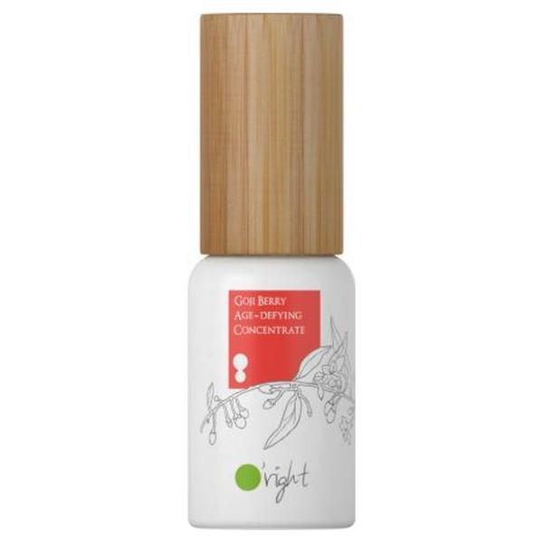 Natuurlijke gelaatsverzorging, anti-aging serum O'right Goji Berry Age Defying Concentrate