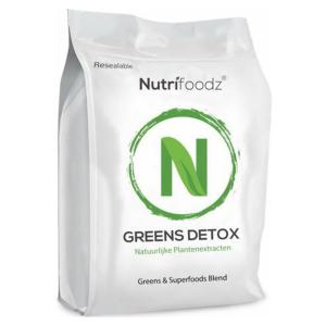 Nutrifoodz Greens Detox® Superfood - 100% Vegan - 60 porties