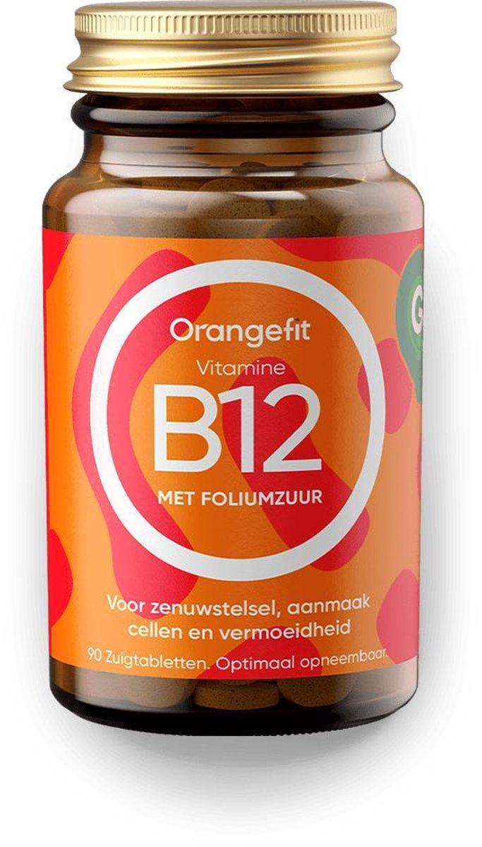 Orangefit Vitamine B12 - 90 Zuigtabletten